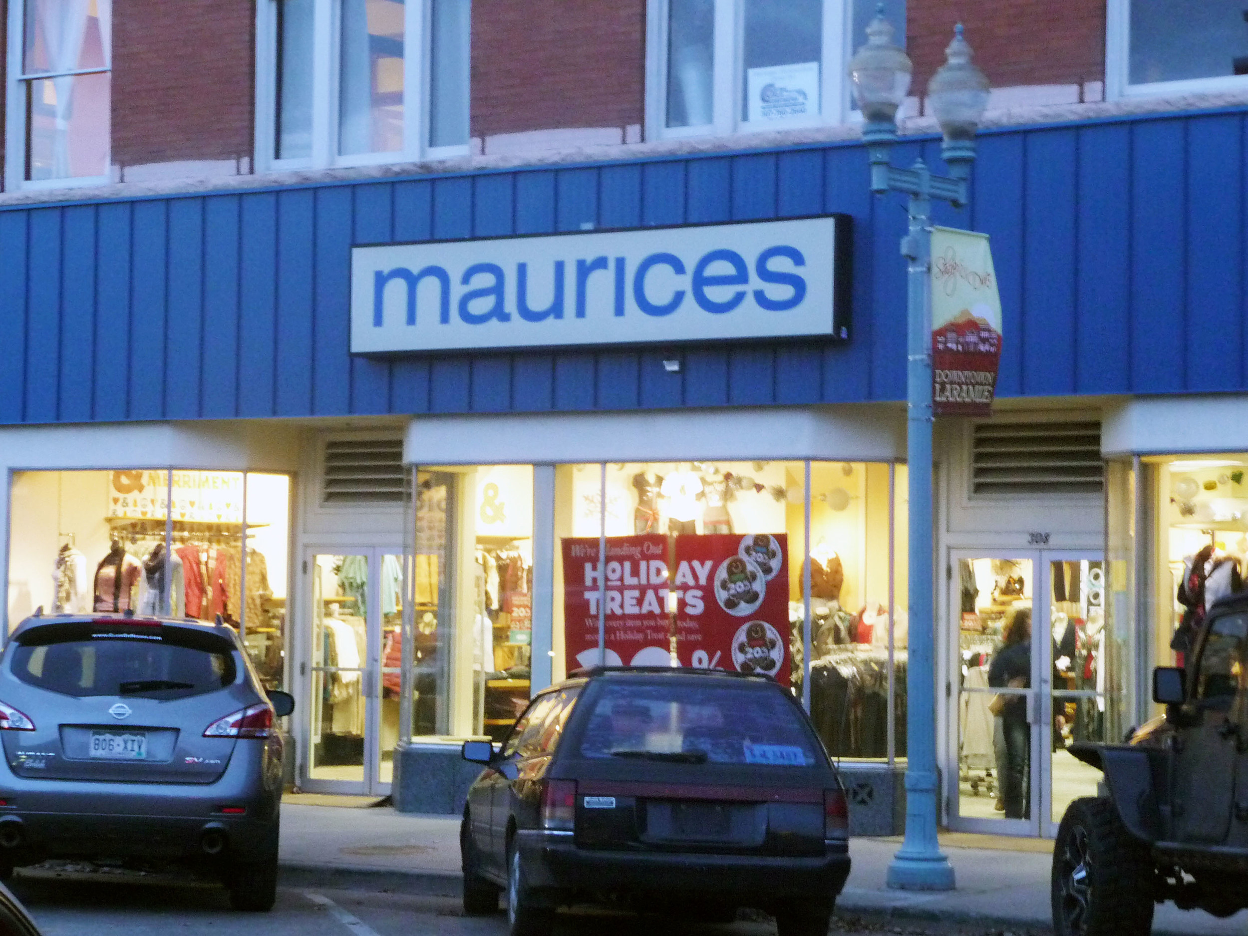 Clothes stores. Maurice clothing store locations